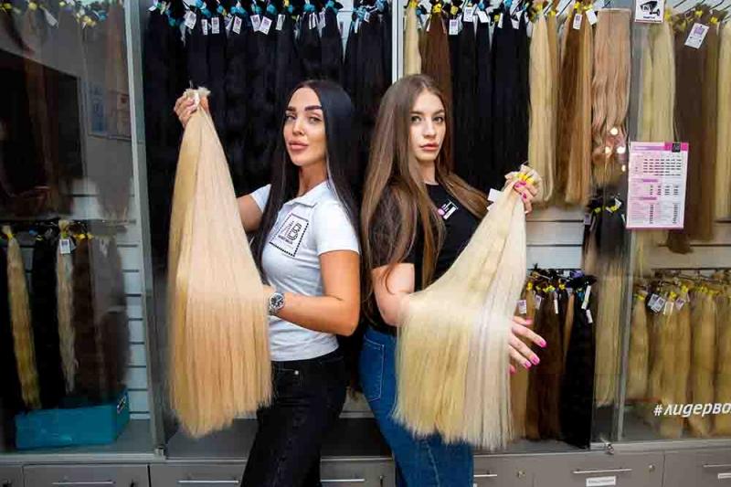 Скупка волос у населения и парикмахеров